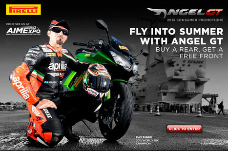 "Pirelli Partners with AIMExpo for the ""Fly into Summer"" Angel GT Promotion 
