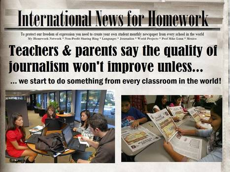 Bad influence from some street newspapers? | Bilingual News for Students | Scoop.it