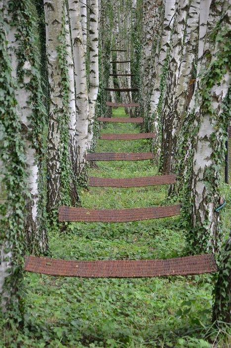 "Anna Popowa: ""Stairway to Heaven"" | Art Installations, Sculpture, Contemporary Art | Scoop.it"