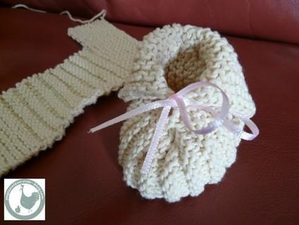 Modèle chaussons bébé Modèles Gratuits Layette Phildar