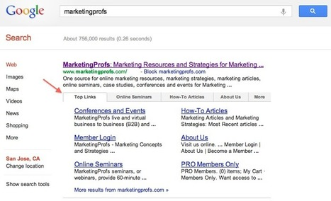 Google Launches SERP Menus | Search Engine Marketing Trends | Scoop.it