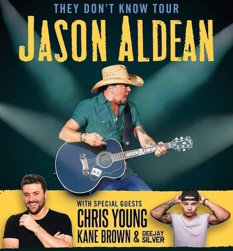 Jason Aldean Launches 33-City 'They Don't Know' Tour in April | Country Music Today | Scoop.it