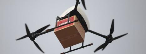 La Poste va bientôt livrer des colis par drone dans le Var | Les Postes et la technologie | Scoop.it