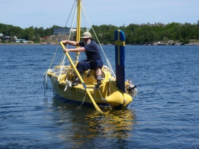 Sven Yrvind is at sea again! | cruisingyachts