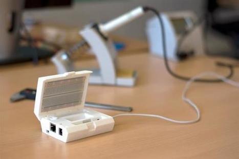 3D print your own 'Portable Lab' case for the BeagleBone Black - 3ders.org (blog) | Arduino, Netduino, Rasperry Pi! | Scoop.it