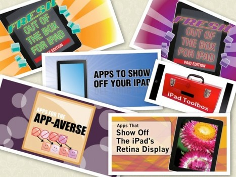 Got A New iPad? There's An AppList For That! | ICT nieuws voor CNS basisschool Cavaljé | Scoop.it