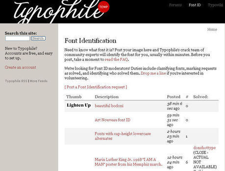 7 Helpful Tools To Identify Font | Community management | Scoop.it