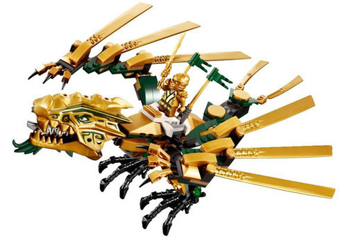 Lego ninjago 70503 le dragon d 39 or lagrand - Ninjago dragon d or ...