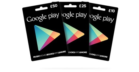 UK Google Play to launch gift cards in £10, £25, £50 denominations | Payments 2.0 | Scoop.it