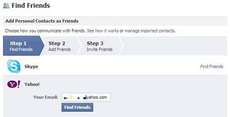 Back Up Your Facebook Contacts to Yahoo & Gmail [Weekly Facebook Tips] | Time to Learn | Scoop.it