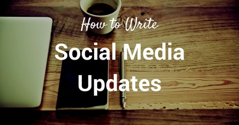 71 Ways to Write a Social Media Update | Awesome ReScoops | Scoop.it