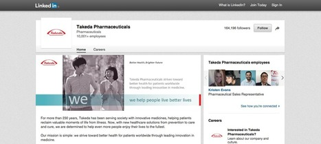 Pharma companies turn to LinkedIn to engage | Social Media and Healthcare | Scoop.it