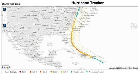 Hurricane Tracker | visual stories | Scoop.it