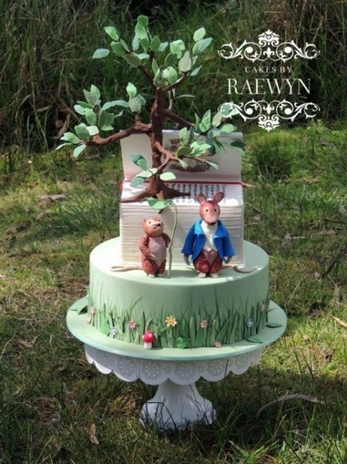 An Incredible Beatrix Potter Baby Shower Cake | Geek On | Scoop.it