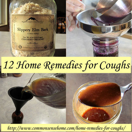 Home Remedies for Coughs - Common Sense Homesteading | Sustain Our Earth | Scoop.it