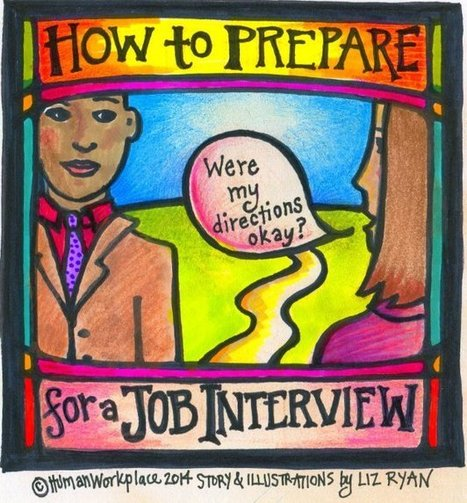How to Prepare for a Job Interview | Human Workplace | Scoop.it