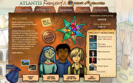 Atlantis Remixed | Digital Delights - Avatars, Virtual Worlds, Gamification | Scoop.it
