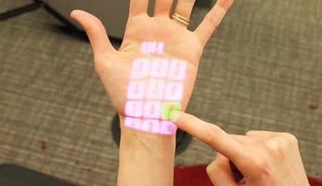 OmniTouch projection interface makes the world your touchscreen (video) | Conciencia Colectiva | Scoop.it