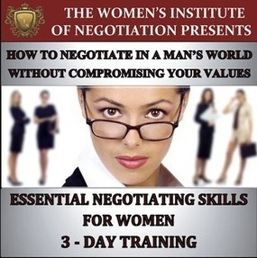 How to negotiate in a man's world without compromising your values. | Well Loved Woman | Scoop.it