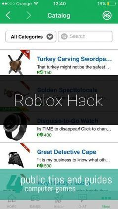 Roblox Catalog Cheat Robux Hack Scoop It