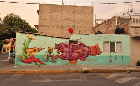 Interesni Kazki Murals In Poland And Mexico | World of Street & Outdoor Arts | Scoop.it