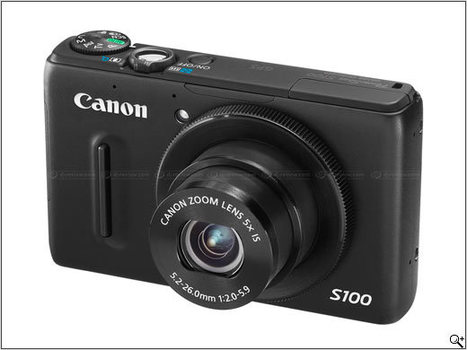 Canon announces PowerShot S100 12MP enthusiast compact | Digital Lifestyle Technologies | Scoop.it