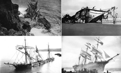 Incredible collection of photographs charting a century of shipwrecks | British Genealogy | Scoop.it