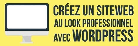 Créez un site internet au look professionnel avec WordPress   Education et Créativité   Scoop.it