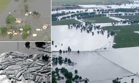 Town turned into an island as floods continue to rage in Colarado | News round the Globe especially unacceptable behaviour | Scoop.it