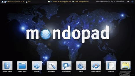 Exploring the Mondopad = mondo possibilities! — Emerging Education Technologies | Moodle and Web 2.0 | Scoop.it