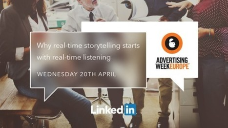 Marketing Secret: Why real-time storytelling with real-time listening works best | Just Story It! Biz Storytelling | Scoop.it