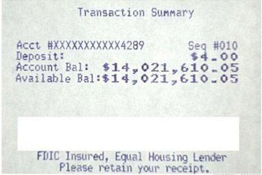 Un expert en sécurité se créé un compte bancaire affichant un solde de 14 millions de dollars | Information security | Scoop.it