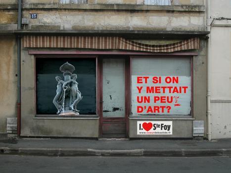 Et si on y mettait... des expos, ...de l'histoire ...et pourquoi pas la vie des associations locales ? | Vitrines d'art à Sainte Foy la Grande - 2013 | Scoop.it