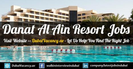Danat Al Ain Resort Careers Abu Dhabi Announced