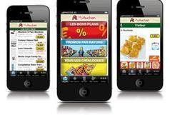Auchan cerne mieux ses clients via le mobile - Actualités RT Terminaux et Systèmes - Reseaux et Telecoms   Toutes les cartes   Scoop.it