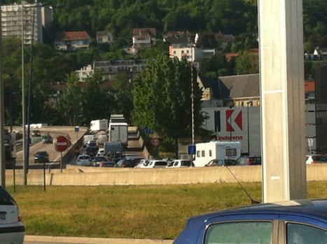 Un accident matériel sur le pont Flaubert sature le trafic | Armada de Rouen 2013 | Scoop.it