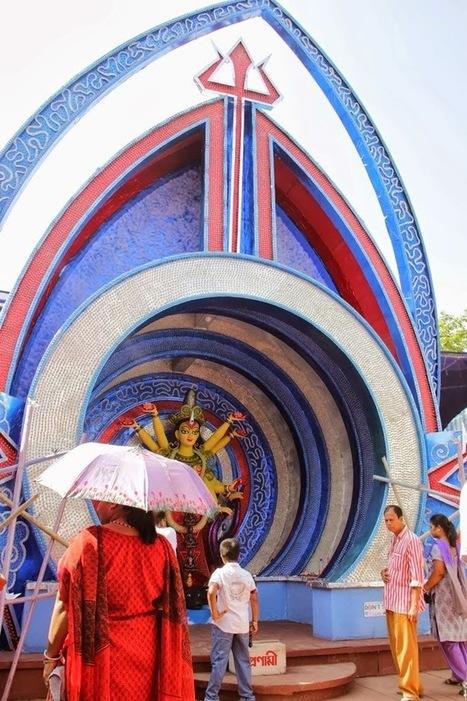 Kolkata Calcutta All Durga Puja Idol Pandal 2013 | World Latest Trends | Entertainment2222 | Scoop.it