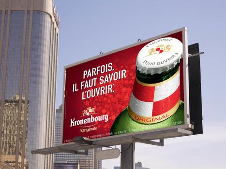 [Campagne] Kronenbourg imagine des affiches amusantes aux jeux de mots contextualisés   Marketing, Digital, Stratégie, Consommation, Réseaux sociaux, Marques, ...   Scoop.it