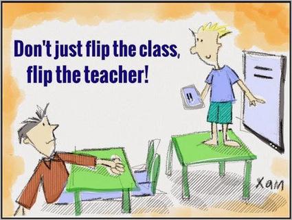 Flipping the teacher | geschiedenis, onderwijs, elearning en meer | Scoop.it