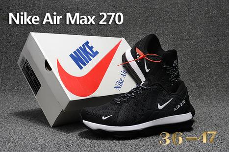 Nike Air Max 2017 Leather Gradual Change Black