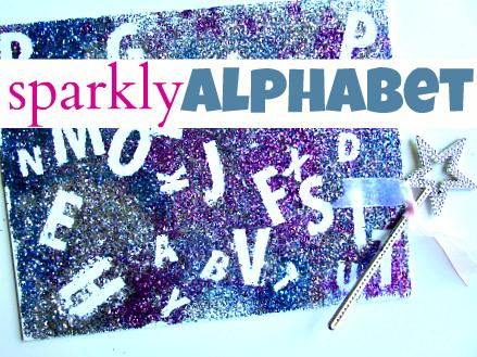 Sparkly Alphabet Craft | Literacia no Jardim de Infância | Scoop.it