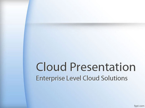 Cloud Powerpoint Templates In Powerpoint Presentations And Ppt