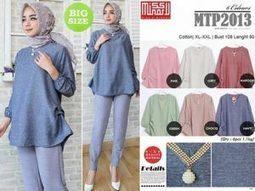 Grosir Baju Tunik MTP2013 - Grosir Baju Muslim Termurah 3621cb3891