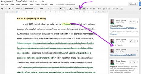 Google docs for academic writing process   Teaching Tefl   Scoop.it