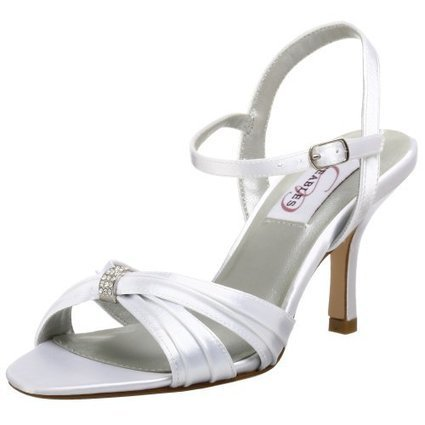 Dyeables Women's Natalie Sandal | Wedding Shoes