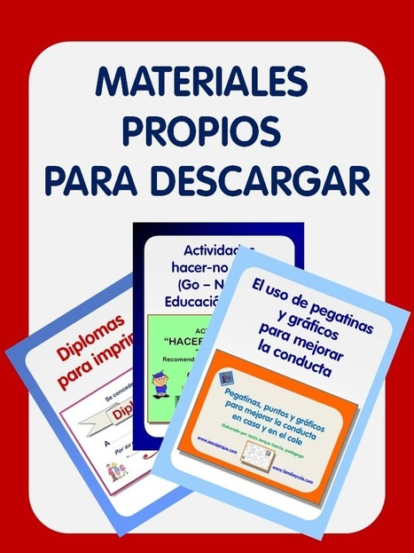 Materiales educativos gratuitos para descargar e imprimir | Biblioteca  para profesores | Scoop.it
