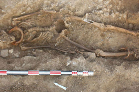 Roman Slave Graves Unearthed In France | horror | Scoop.it