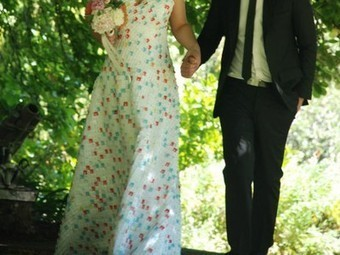 Bride marries in $36 wedding dress made of upcycled bread bag clips   A Clean, Green Home   Scoop.it