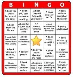Reading Bingo 2013 Challenge | LibraryLinks LiensBiblio | Scoop.it