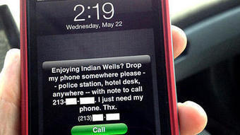Kidnapped iPhone roams far from home | The Global Village | Scoop.it